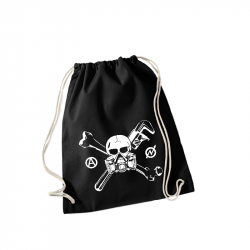 Skull Gasmask - Sportbeutel WM110