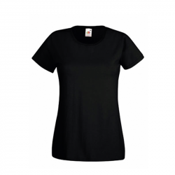 Lady T-Shirt - schwarz - FotL