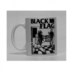 BLACK FLAG NERVOUS BREAKDOWN - Kaffeebecher
