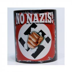 NO NAZIS - Kaffeebecher
