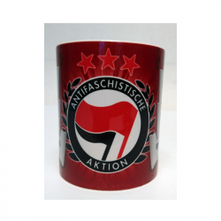 ANTIFASCHISTISCHE AKTION - Kaffeebecher