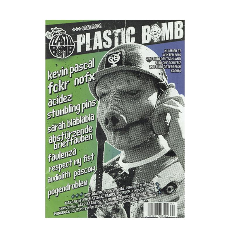Plastic Bomb  - Winter 2016 + CD
