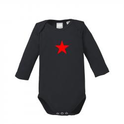 Star - Bio-Babybody langarm