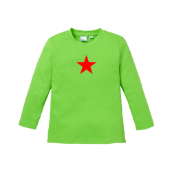 Star - Kids Langarmshirt