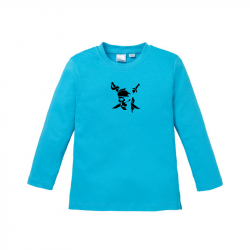 Pirate - Kids Langarmshirt
