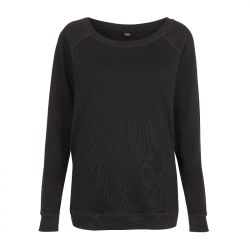 Women's  Sweatshirt - schwarz - EarthPositive® EP66