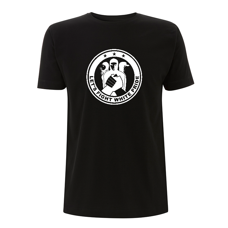 Let's Fight White Pride - T-Shirt  - Continental N03