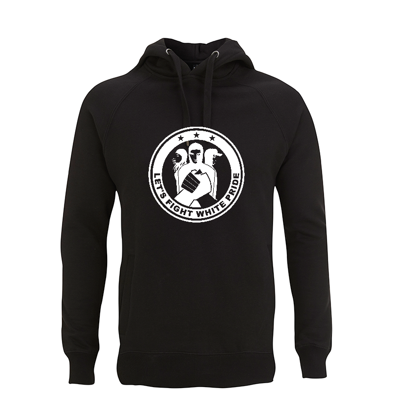 Let's Fight White Pride - Kapuzenpullover - Continental N50P