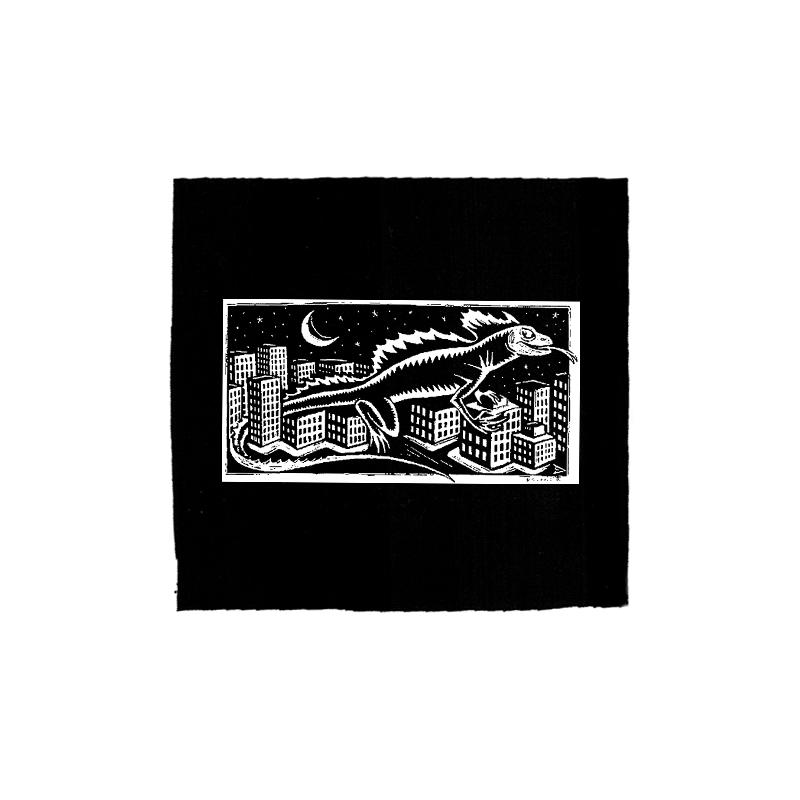 Drooker Echse – Aufnäher