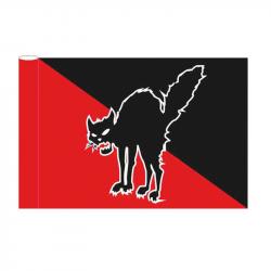 Anarchocat - Fahne