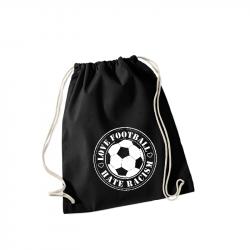 Love Football - Hate Racism - Sportbeutel