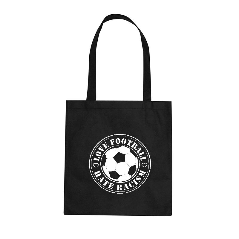 Love Football - Hate Racism - Stoffbeutel