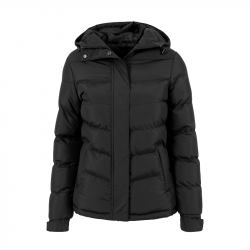 Ladies Bubble Jacket - schwarz - URBAN CLASSICS