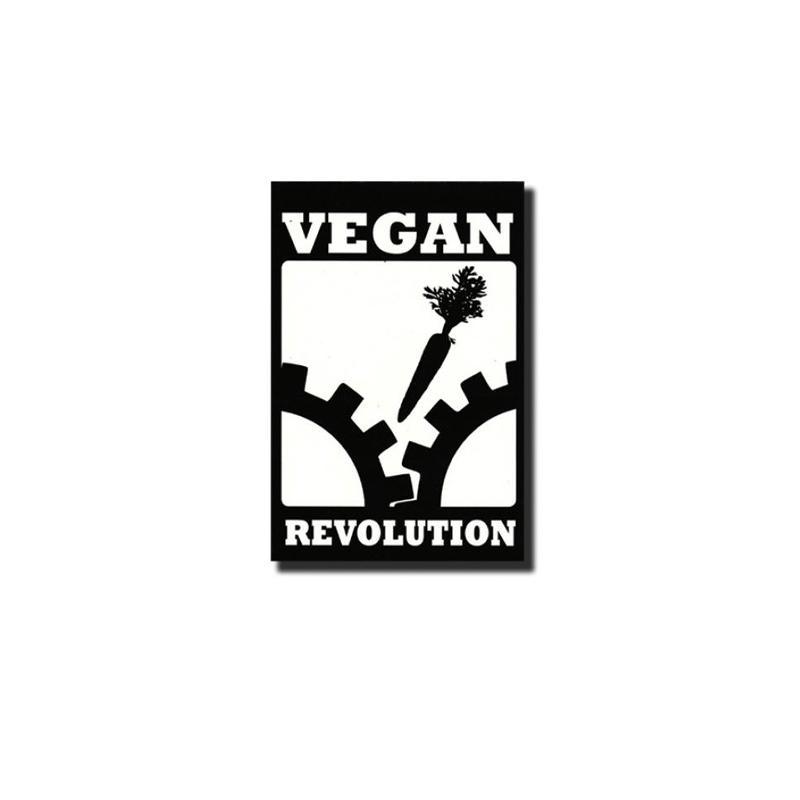 Vegan flower -  Metal-Pin
