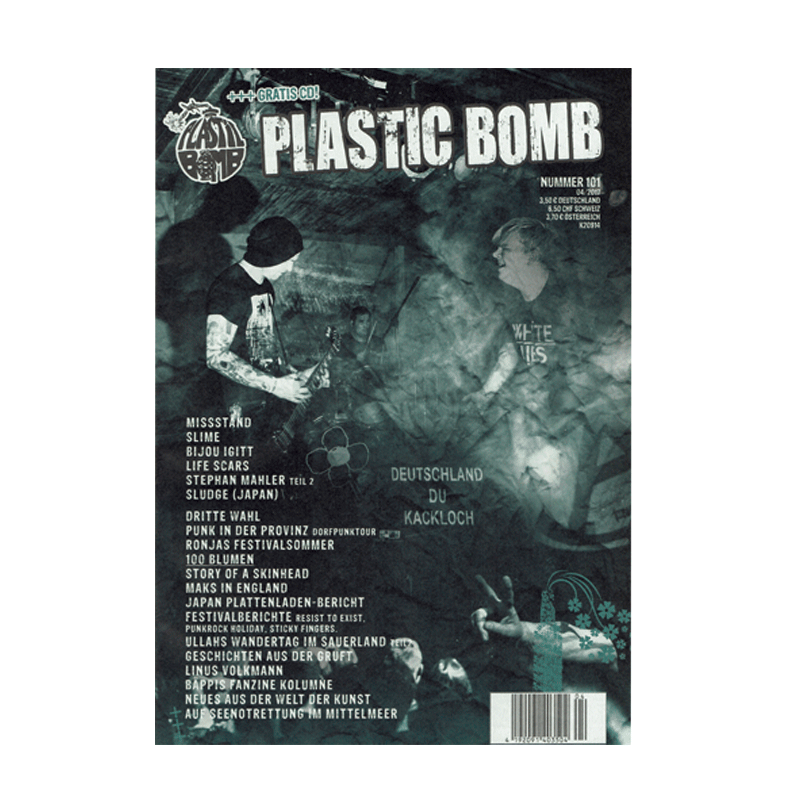 Plastic Bomb - Winter 2017 + CD