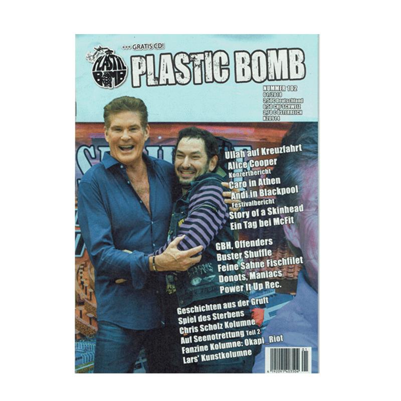 Plastic Bomb - Frühjahr 2018 + CD