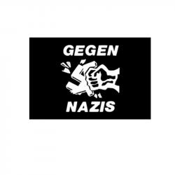 Gegen Nazis - Fahne