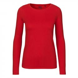 Long Sleeve T-Shirt  tailliert – verschiedene Farben - NEUTRAL