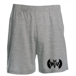 Antifa Bat - grau - Shorts
