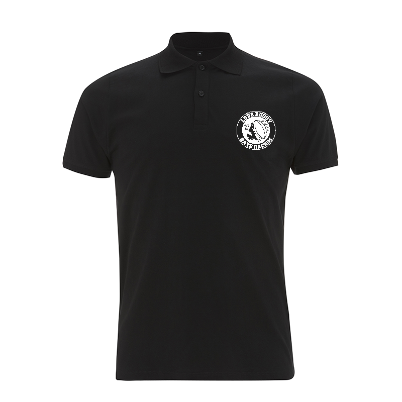 Love Rugby - Hate Racism - Polo-Shirt Continental N34