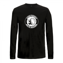 Love Rugby - Hate Racism – Longsleeve - Continental EP01L