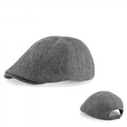 """""""Ivy Cap""""  Schiebermütze - grau"""