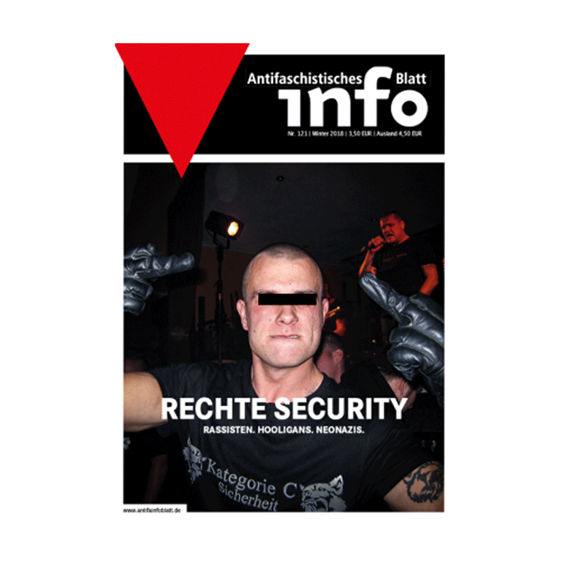Antifaschistisches Infoblatt (AIB) - Winter 2018