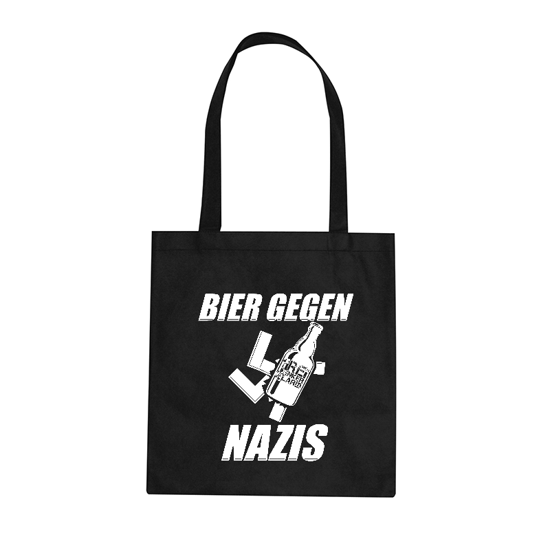 Freidenkeralarm - Bier gegen Nazis - Baumwolltasche