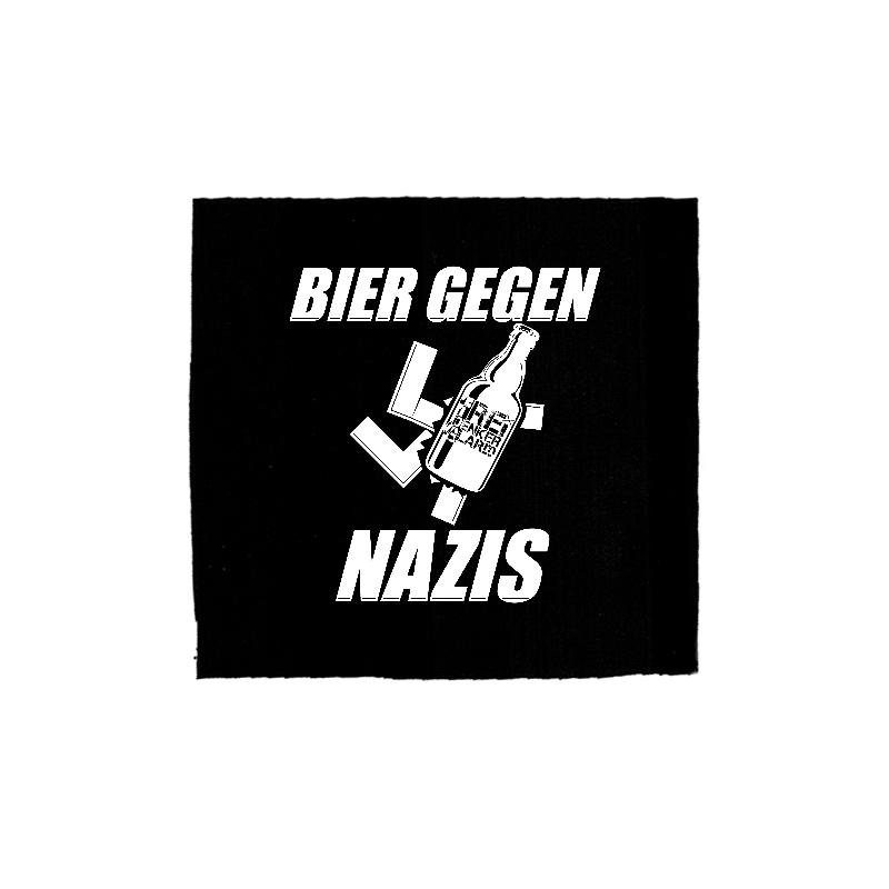 Bier gegen Nazis  - Freidenkeralarm -Patch