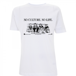 No Culture. No Life. - Soli-Shirt - N03 white