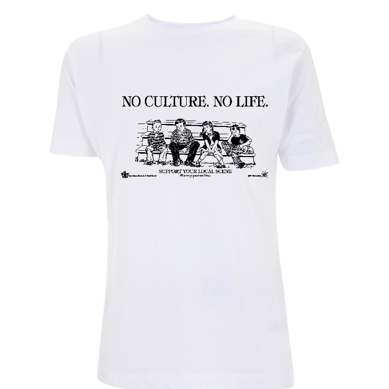No Culture. No Life. - Soli-Shirt - N03 white