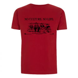 No Culture. No Life. - Soli-Shirt - N03 red