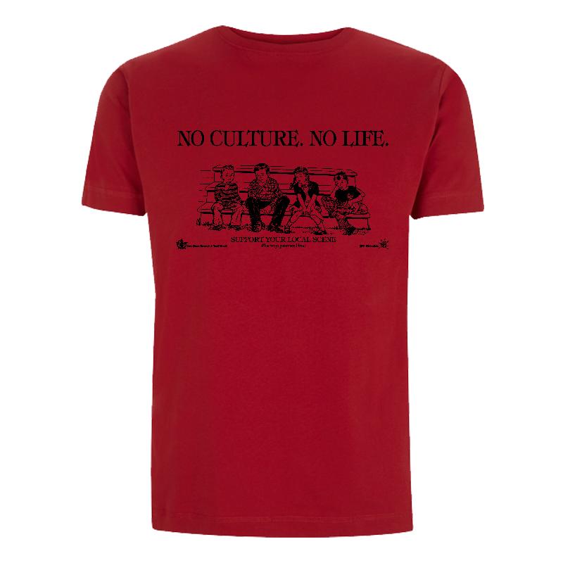 No Culture. No Life. - Soli-Shirt - N03 red