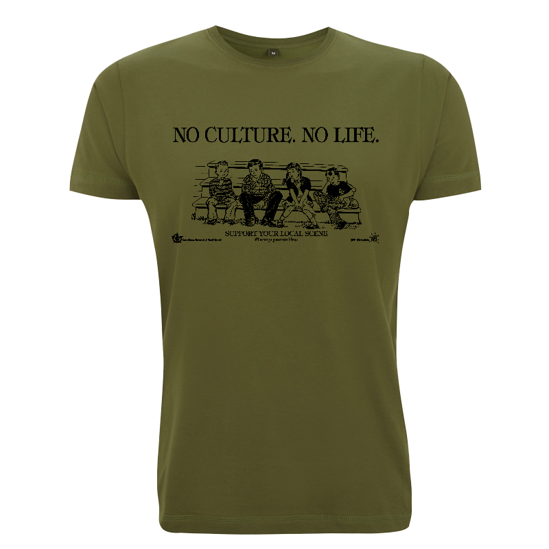 No Culture. No Life. - Soli-Shirt - N03 forest green
