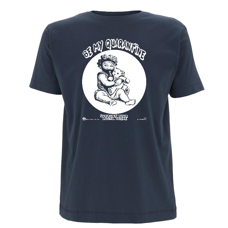 be my Quarantine - Soli-Shirt - N03 denim blue