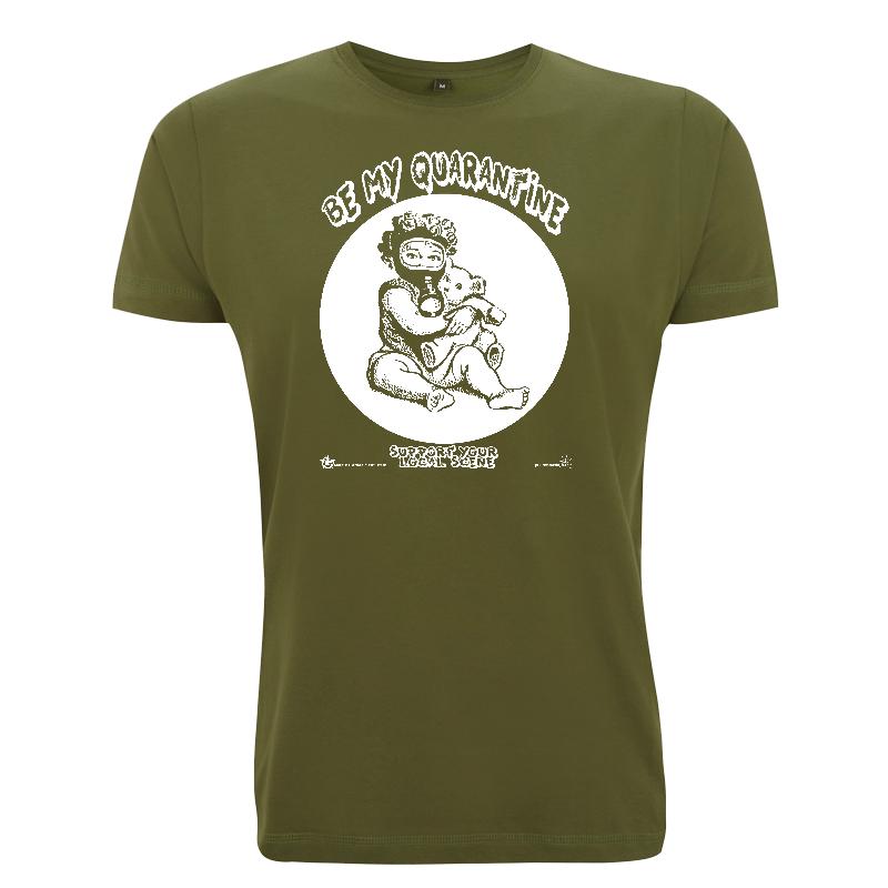 be my Quarantine - Soli-Shirt - N03 forest green