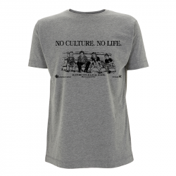 No Culture No Life - Soli-Shirt N03 melange grey