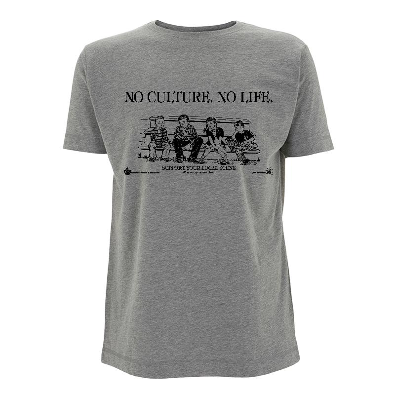 No Culture No Life - Soli-Shirt N03 melange grey