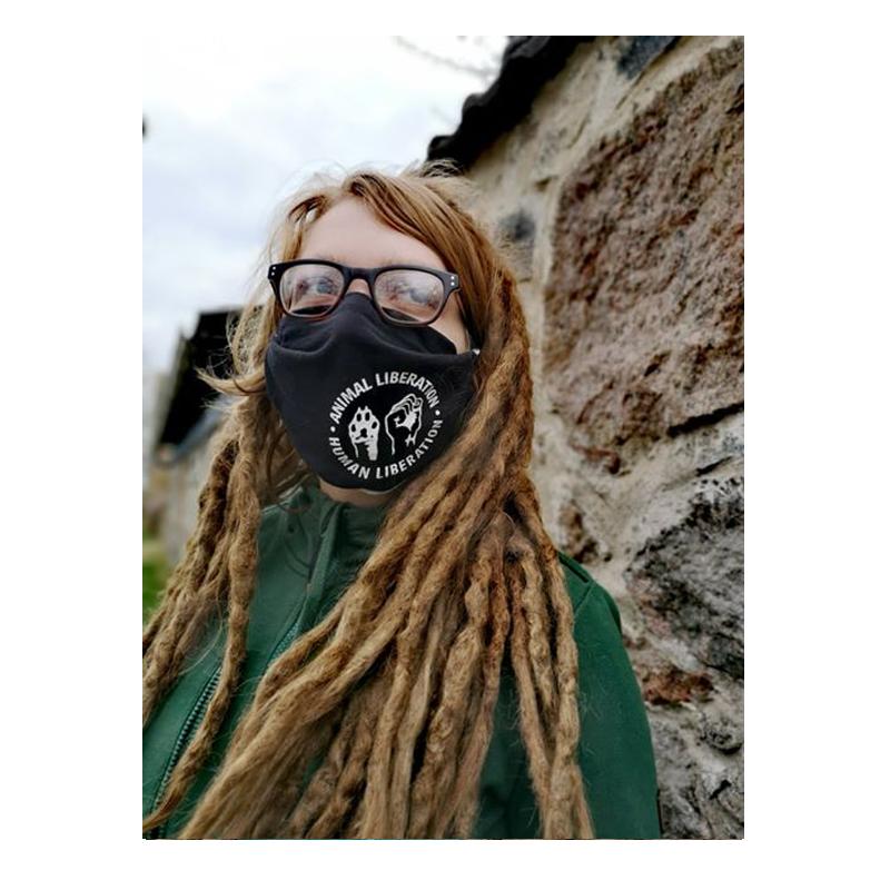 Maske / Mundbedeckung - Animal Liberation