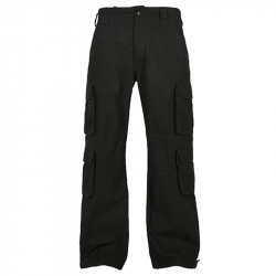 Pure Vintage Trousers - schwarz, BUILD YOUR BRANDIT, BYB1003