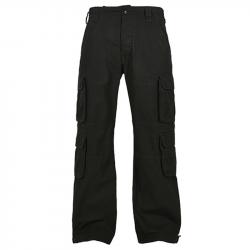 Pure Vintage Trousers - schwarz, BUILD YOUR BRANDIT, BYB1003