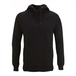 Kapuzenpullover N50P UNISEX PULLOVER HOOD/SIDE POCKETS - black – Continental Clothing®