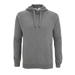 Kapuzenpullover N50P UNISEX PULLOVER HOOD/SIDE POCKETS - dark heather – Continental Clothing®