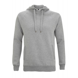 Kapuzenpullover N50P UNISEX PULLOVER HOOD/SIDE POCKETS - light heather – Continental Clothing®