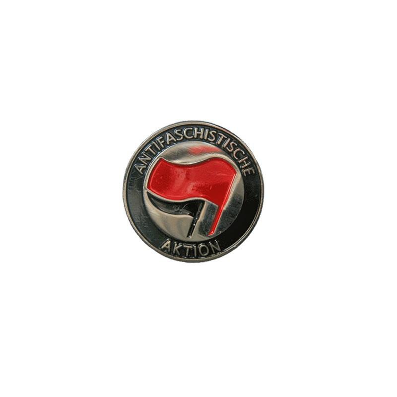AFA RED/BLACK, Metal-Pin