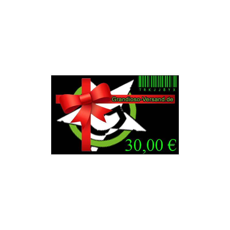 Grandioso-Gutschein (30,- EUR)