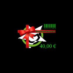 Grandioso-Gutschein (40,- EUR)