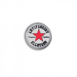 Antifascist Allstars Red, Metal-Pin