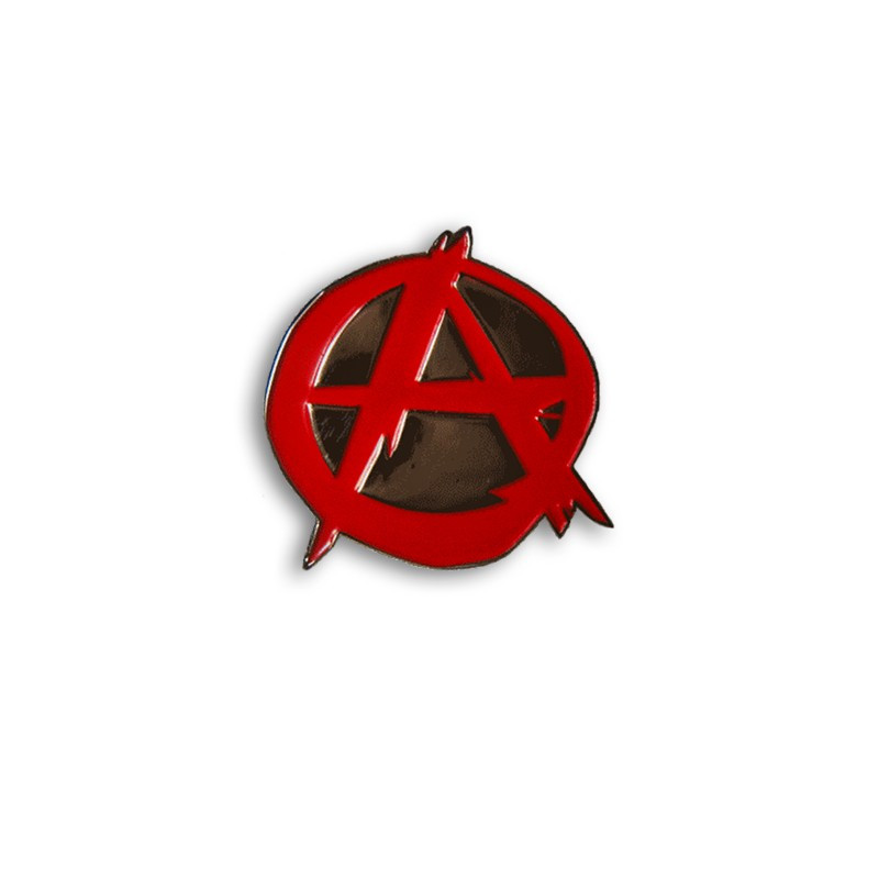 Anarchy Red, Metal-Pin