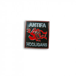 Antifa Hooligan, Metal-Pin